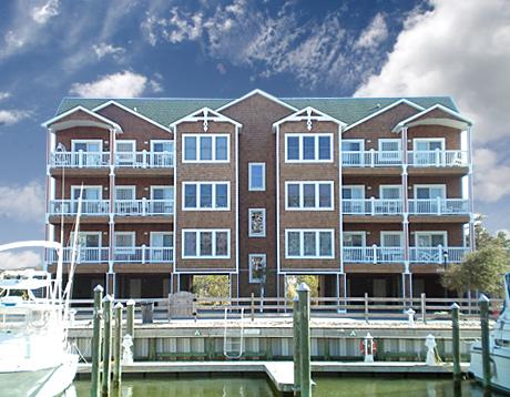 Shallowbag Bay - Manteo, NC. Built by Coastal Construction of NC Inc.